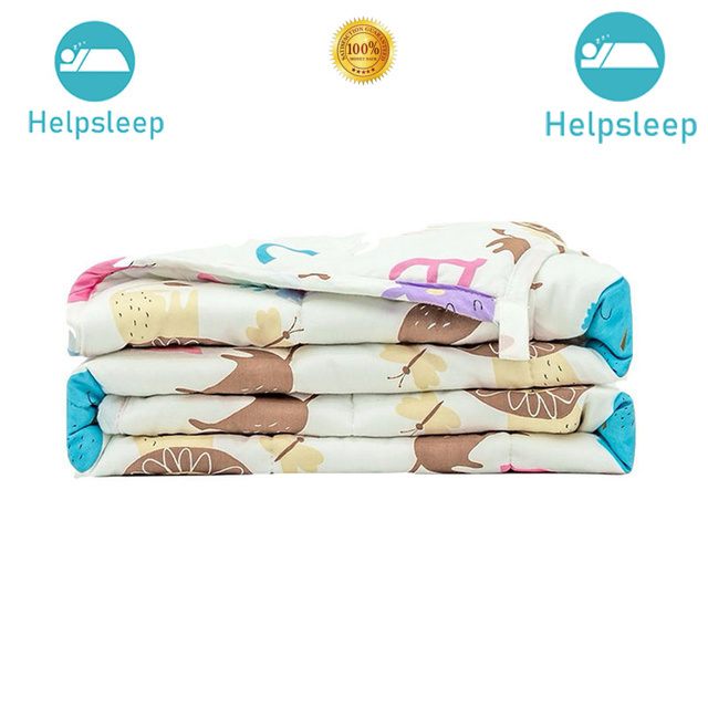 Comfortable soft weighted blanket design bed linings