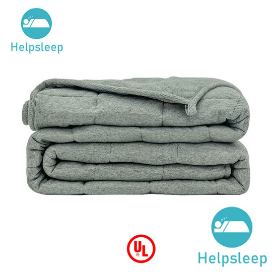 security organic cotton weighted blanket material bed linings
