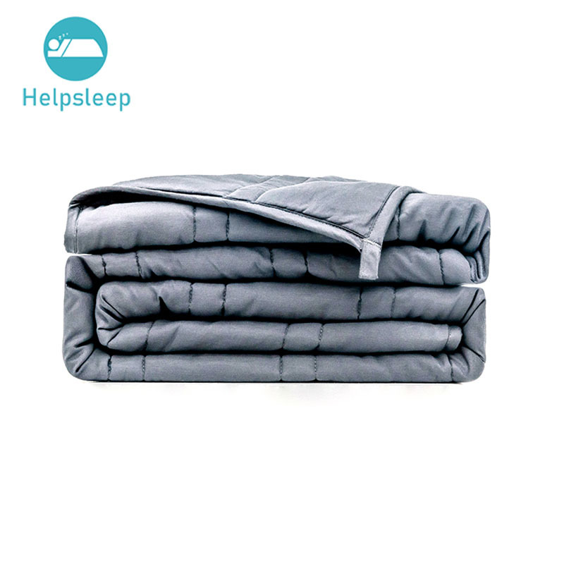 Luxury Double Stitching Quilted Weighted Blanket Set