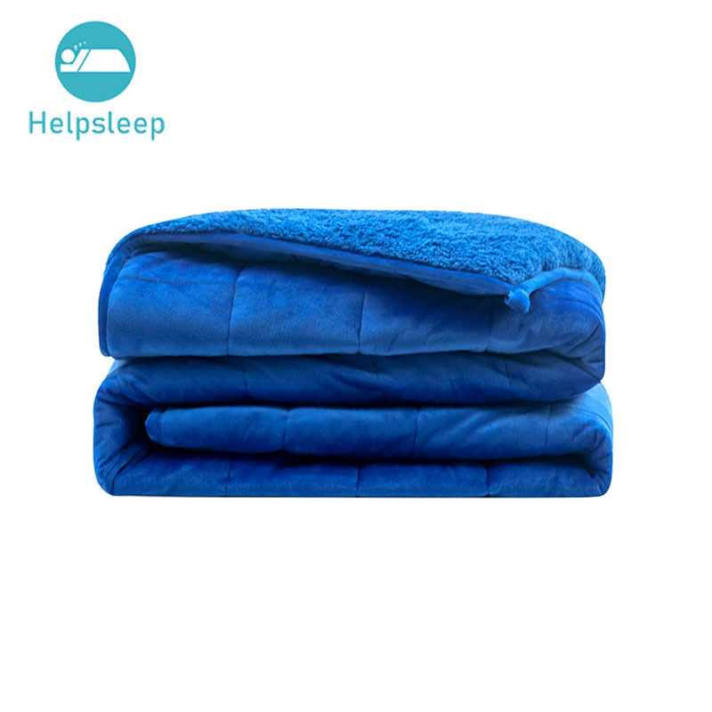 Anxiety Relief Warm Winter Fleece Sherpa Adult Spd Weighted Blanket