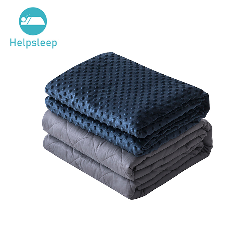 Therapeutic Weighted Blanket Set With Muti Fabric Size Pattern Choice
