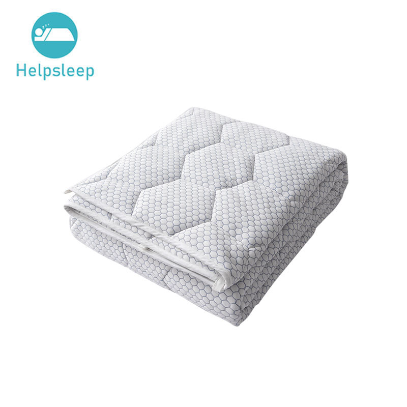 Cooled Weighted Blanket Cooling Fabric with Glass Beads, Gift for Your Loved