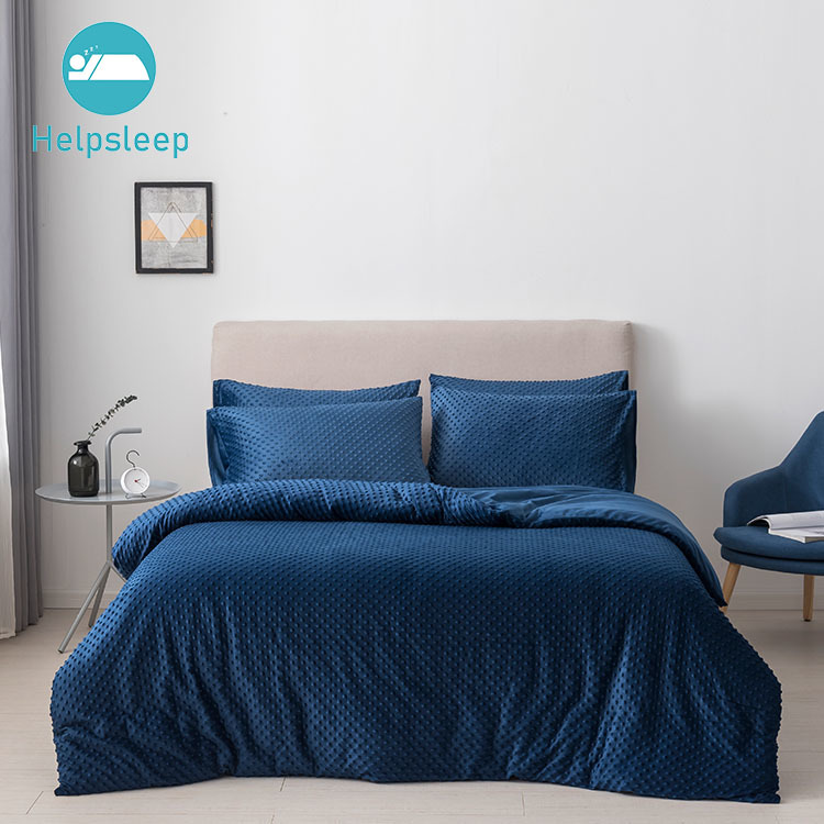Duvet Cover Set Soft & Comfortable Minky Fabric Blanket Cover