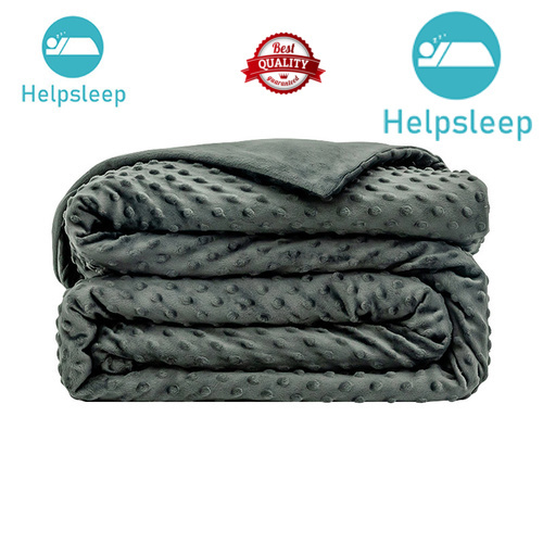 Rhino breathable minky dot weighted blanket bed products in household