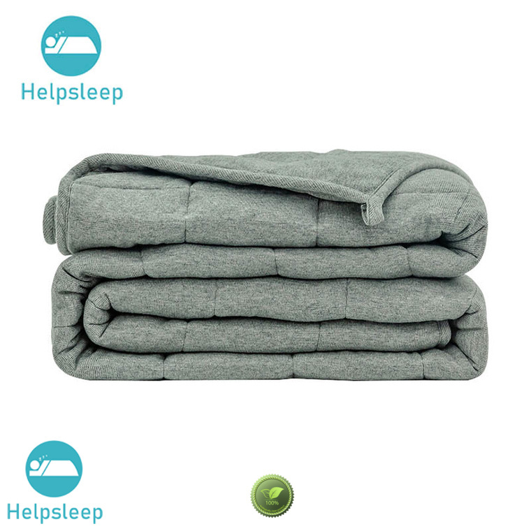 Comfortable heavyweight cotton blanket adult Bedding