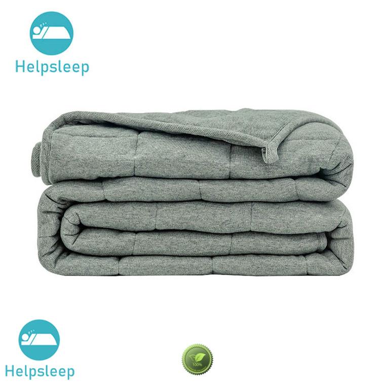 Comfortable heavyweight cotton blanket adult Bedding