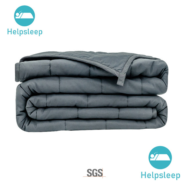 Rhino soft weighted blanket design in household
