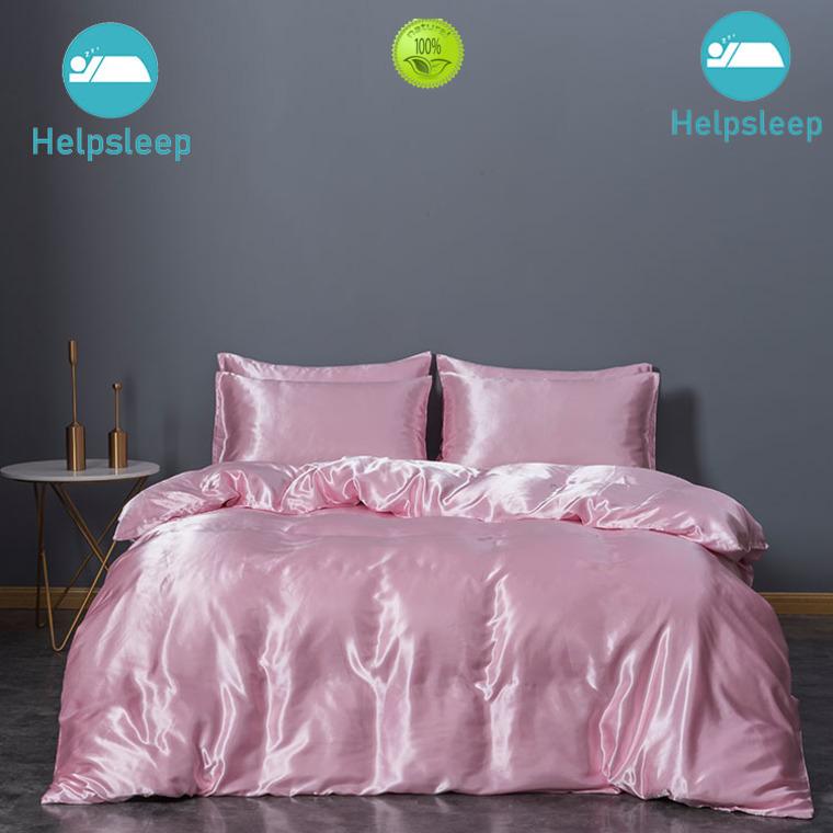 Rhino Custom Raw silk quilt cover factory Bedding
