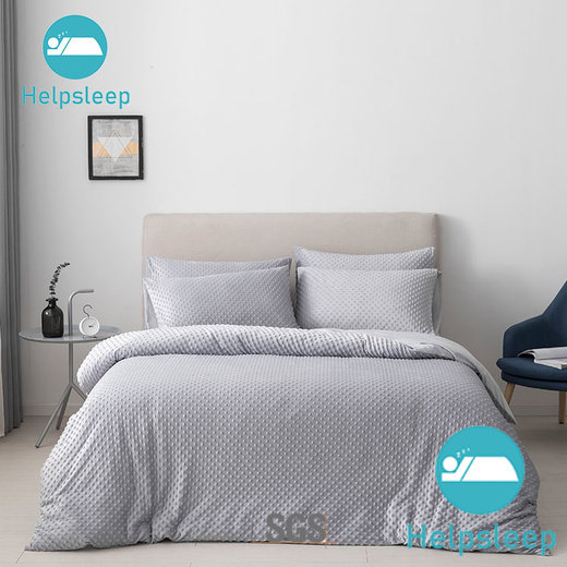 Rhino white silk bedspread Supply in household