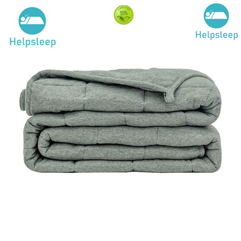 breathable cotton blanket material in household