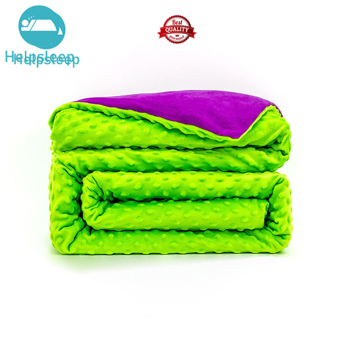breathable minky dot weighted blanket bed products Bedding
