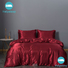 Wholesale Silk-blend duvet cover manufacturers bed linings