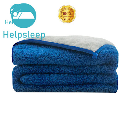 Rhino Comfortable sherpa blanket Bedding