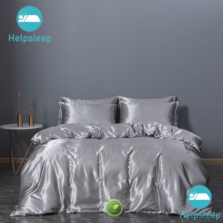 Rhino Top Silk satin duvet cover factory Bedclothes
