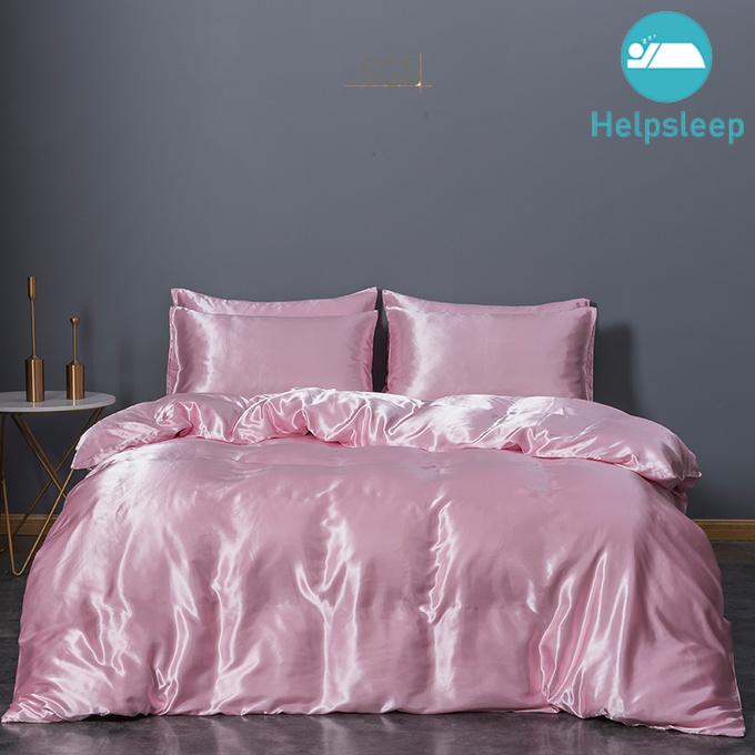Custom silk blanket cover factory bed linings