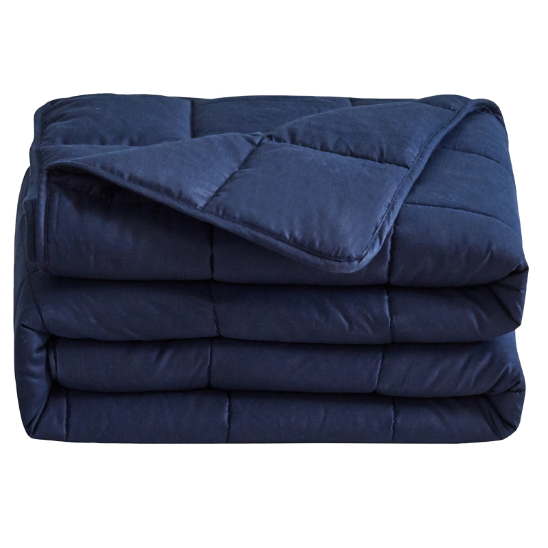 Wholesale cheap price 20lbs sherpa sensory inner adult weighted blanket