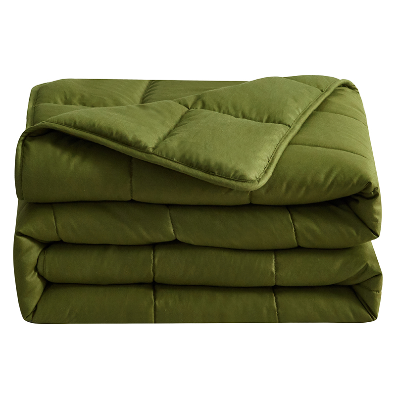 Wholesale insomnia heavy 15lbs weighted blanket for anxiety autism