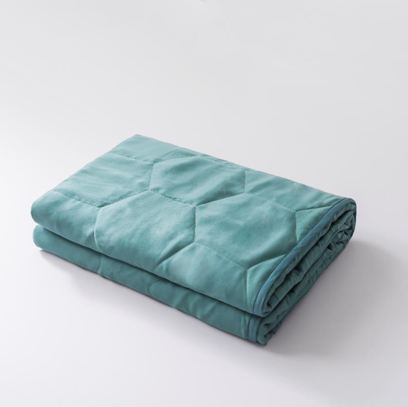 Removable cooling ice blanket cover duvet cover for bamboo weighted blanket
