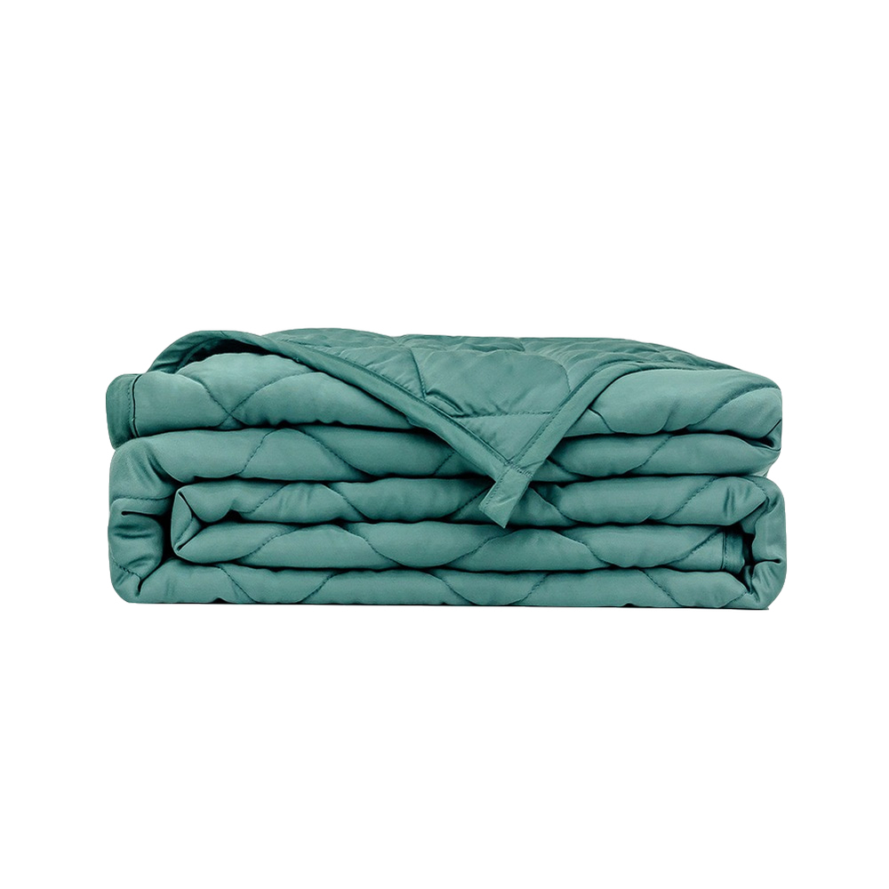 Eco-Friendly Natural Fiber Cooling Weighted Blanket