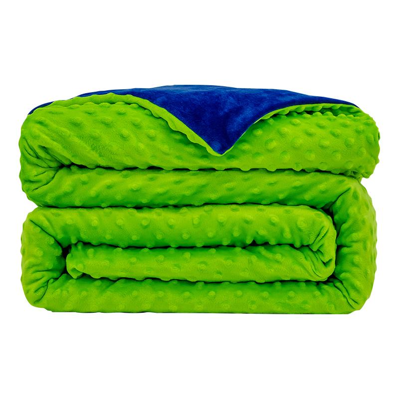 Custom Color Super Soft Minky WeightedFull Duvet Cover