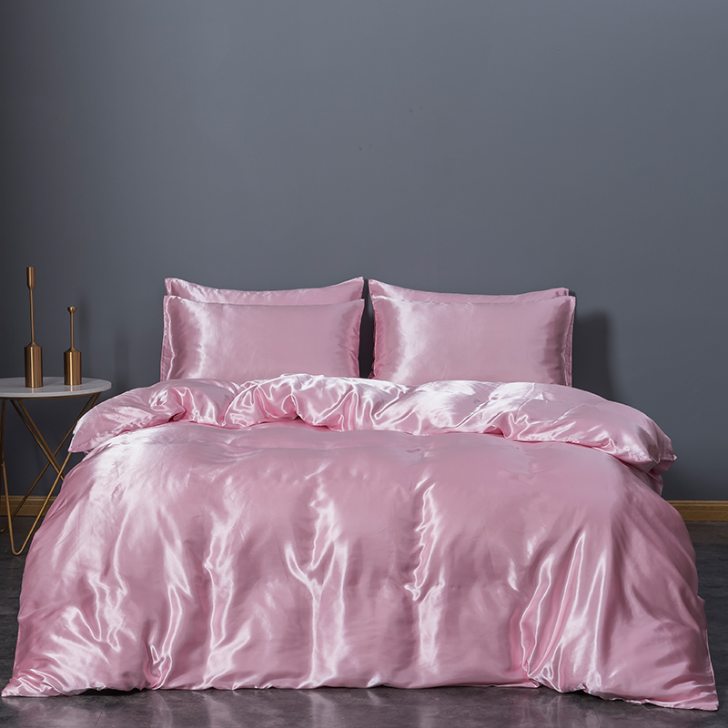 Sexy Satin Duvet Cover Set 3 piece