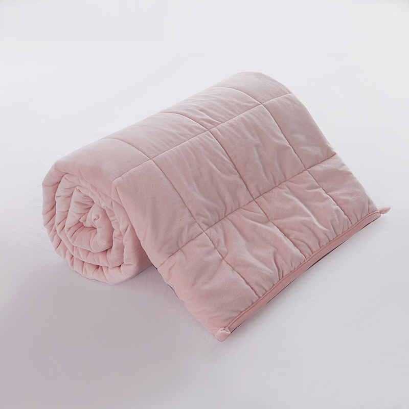 faux fur sherpa weighted blanket