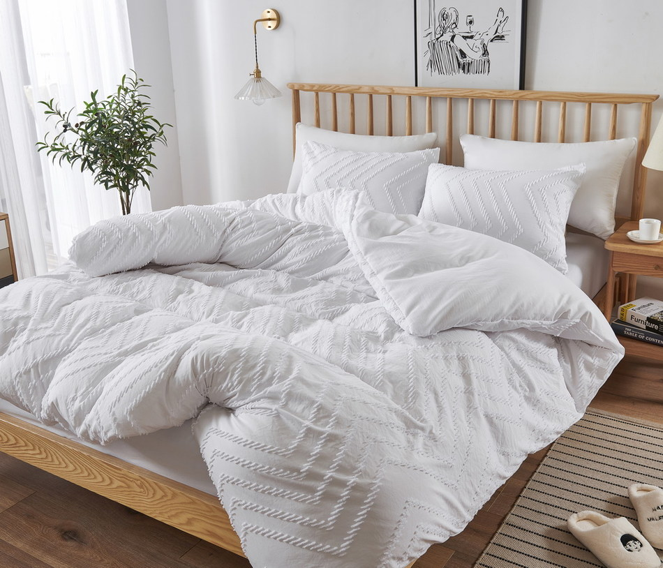 Wholesale New King Size Sheet Carved Pile Duvet Cover Bedding Sets