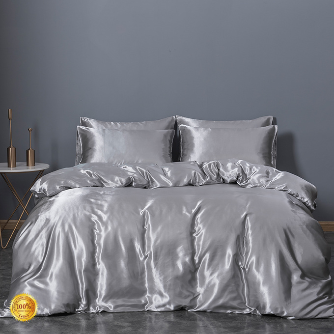 Rhino High-quality silk comforter set factory Bedclothes