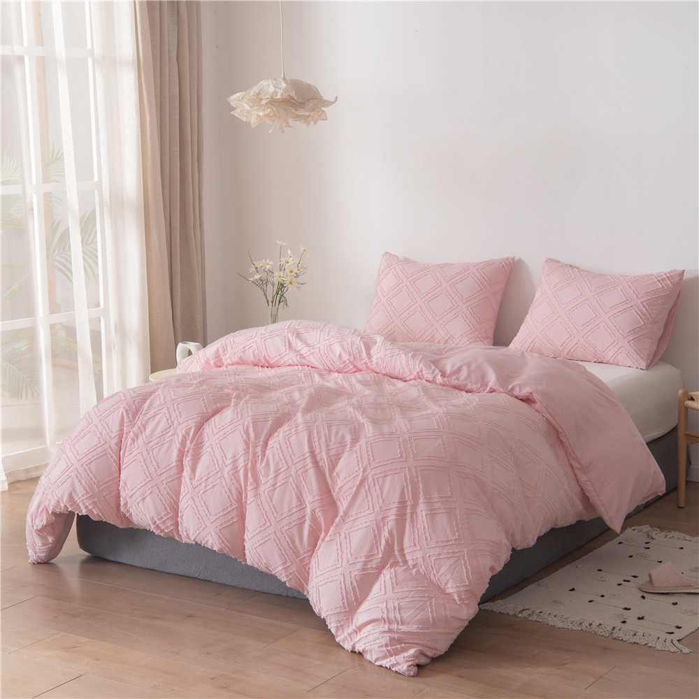 tufted duvet cover set