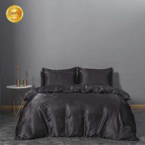 Rhino grey silk sheets for business Bedding