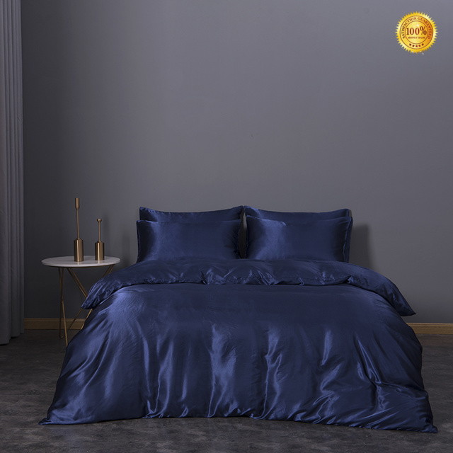 Top cheap silk bed sheets Supply in household