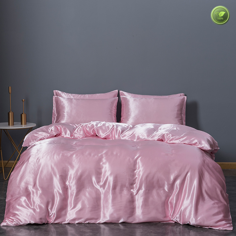 New red silk sheets queen company in household
