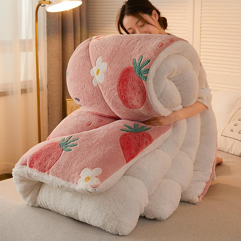 Wholesale Printed Sherpa comforter set With Good Price-Rhino