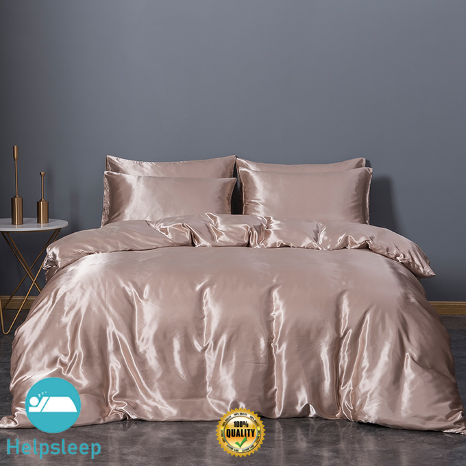 Rhino Top full size silk sheet set Supply bed linings
